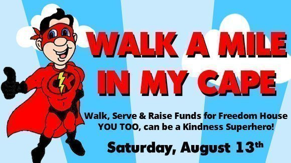 Walk a Mile in my Cape | August 13th