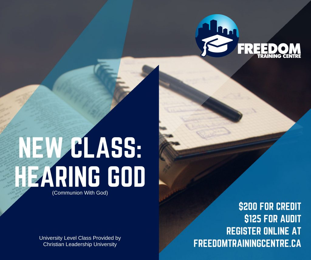 Hearing God Course (Communion with God)